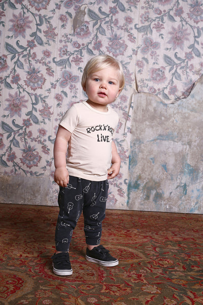 Rock Your Baby Rock N Roll SS Tee Afterpay