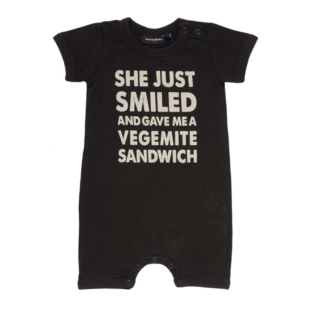 Rock Your Baby Vegemite Sandwich Playsuit | Size 12-18M Last One