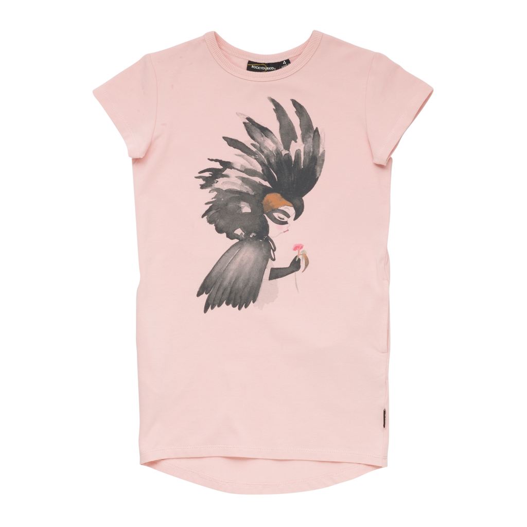 Rock Your Kid Cockatoo Tee Dress