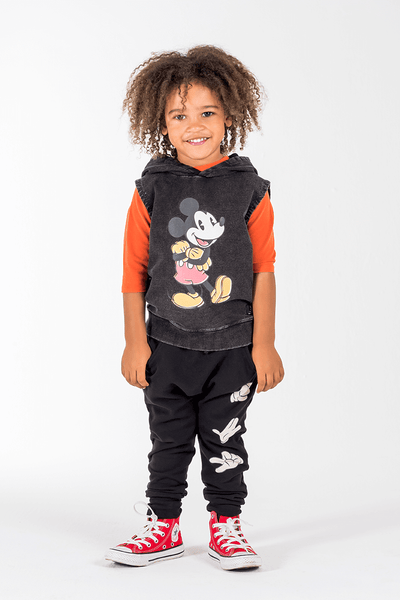 Rock Your Kid Mighty Mickey Sleeveless Hoodie