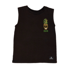 Rock Your Kid Pineapple Skull Muscle Top | Size 7Y Last One
