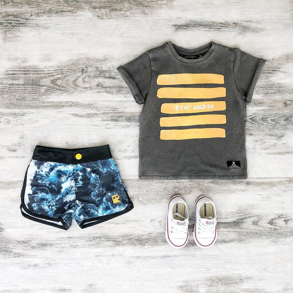 Rock Your Kid Stay Golden Tee | Last Two