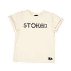 Rock Your Kid Stoked Tee | Size 6Y Last One