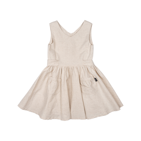 Rock Your Kid Lola Dress | Oatmeal