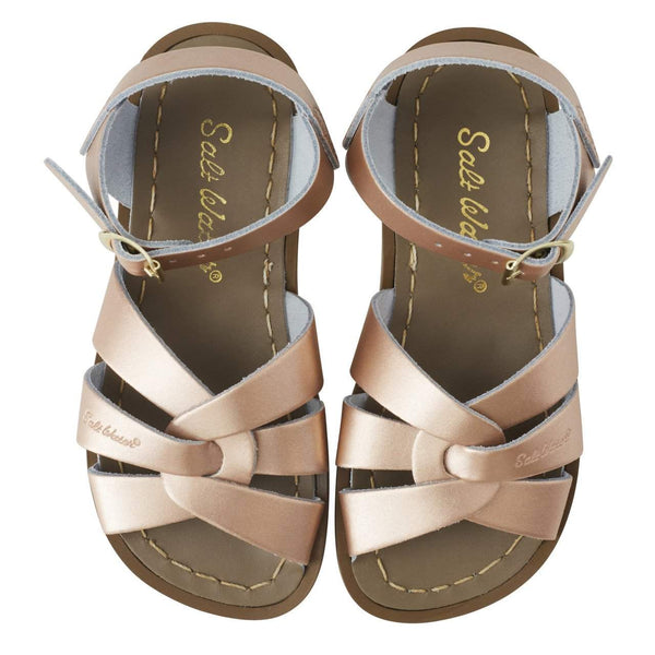 Saltwater Sandals Original | Rose Gold Afterpay