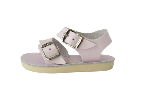 Saltwater Sandals Sun-San Sea Wee | Pink Afterpay