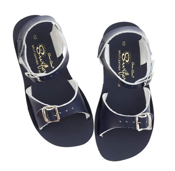 Salt Water Kids Sandals Sun-San Surfer | Navy