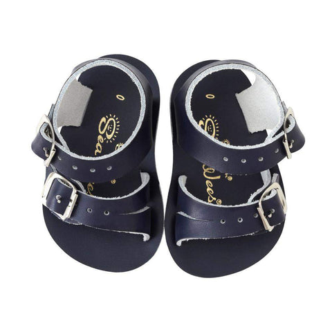 Salt Water Baby Sandals Sun-San Sea Wee | Navy | Size US 3 Last One