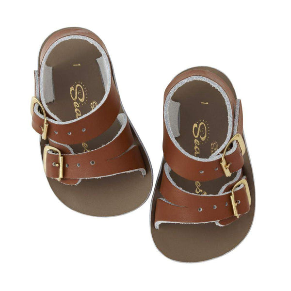 Salt Water Baby Sandals Sun San Sea Wee Tan Afterpay