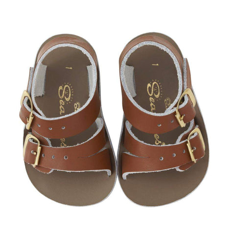 Salt Water Baby Sandals Sun-San Sea Wee | Tan
