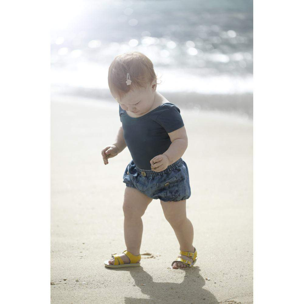 7032cc568cec44 Salt Water Baby Sandals Sun-San Sea Wee Tan