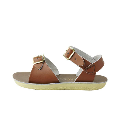 Salt Water Kids Sandals Sun-San Surfer | Tan
