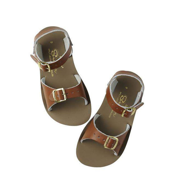Salt Water Kids Sandals Sun-San Surfer | Tan Afterpay