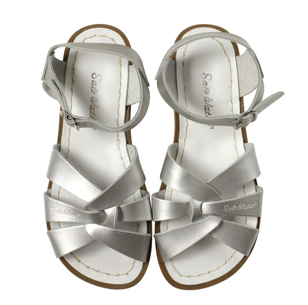 Saltwater Sandals Original | Silver Afterpay