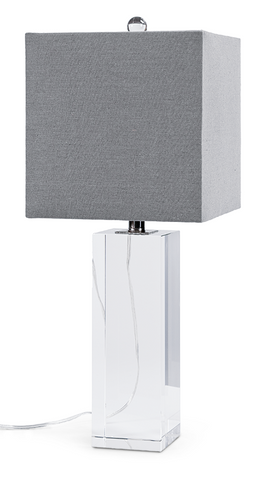Shop modern and contemporary table lamps at the lamp shop sale crystal block table lamp the lamp shop buy aloadofball Choice Image