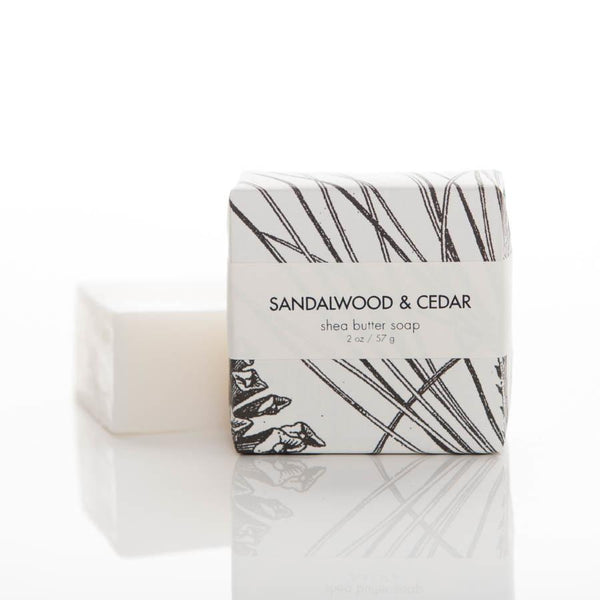 Soap - Sandalwood + Cedar