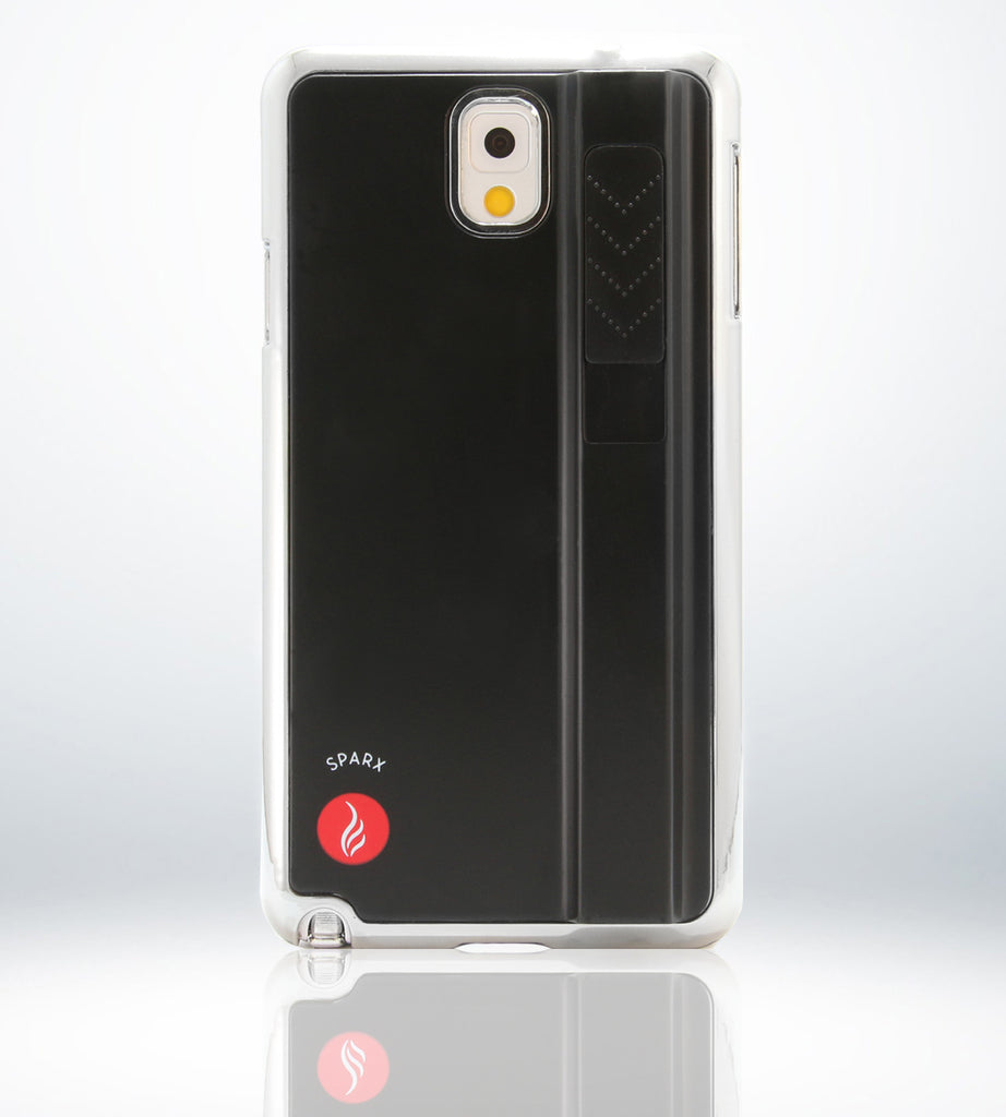 SPARX LIGHTER CASE for Samsung Note 3 in BLACK