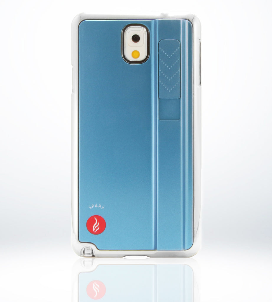 SPARX LIGHTER CASE for Samsung Note 3 in BLUE