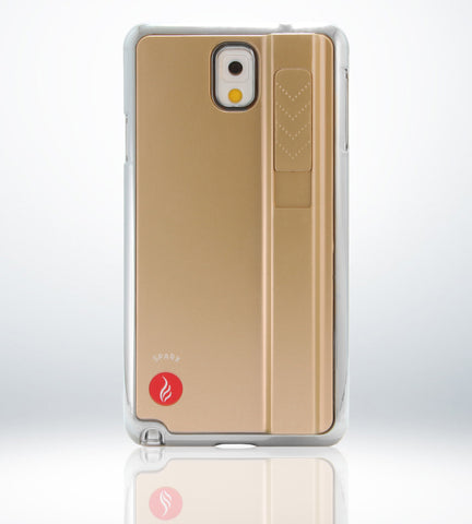 SPARX LIGHTER CASE for Samsung Note 3 in GOLD