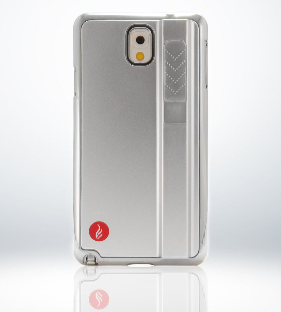 SPARX LIGHTER CASE for Samsung Note 3 in SILVER