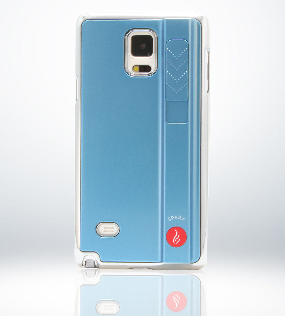 SPARX LIGHTER CASE for Samsung Note 4 in BLUE