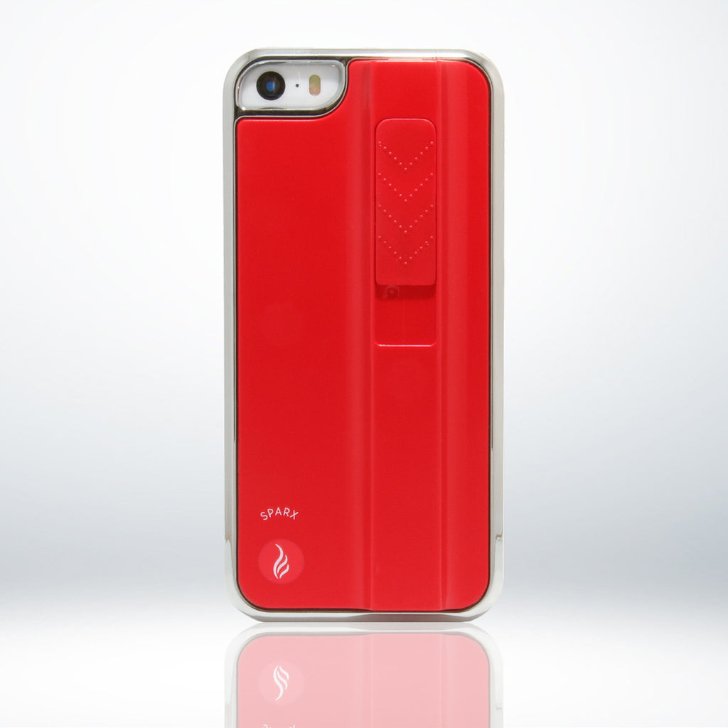 SPARX LIGHTER CASE for iPhone 5/5S in RED