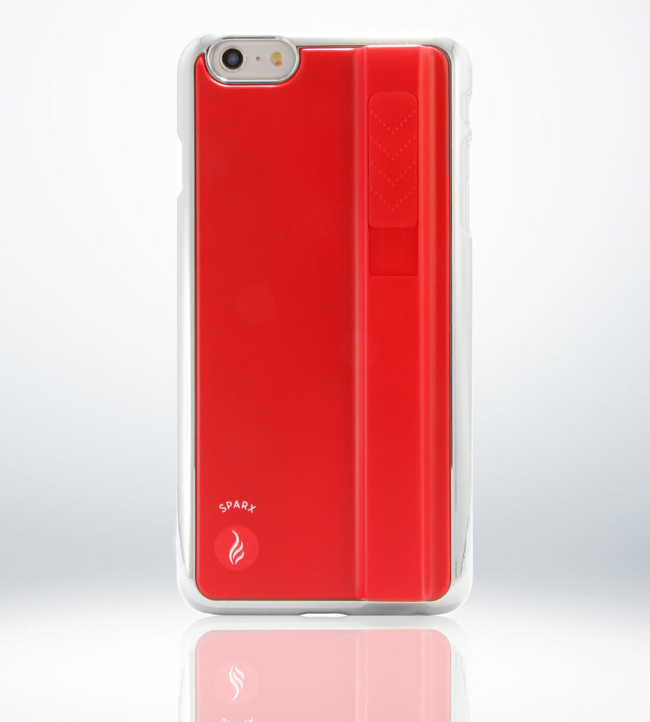 SPARX LIGHTER CASE for iPhone 6 Plus/6S Plus in RED