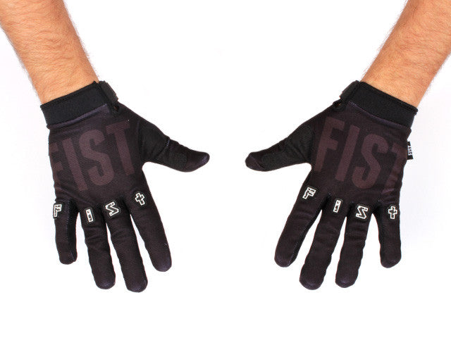Fist Stocker Black strapped glove