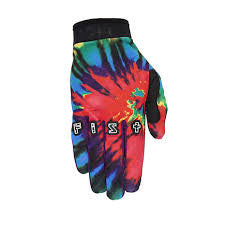 Fist Tie Dye Red slip on glove