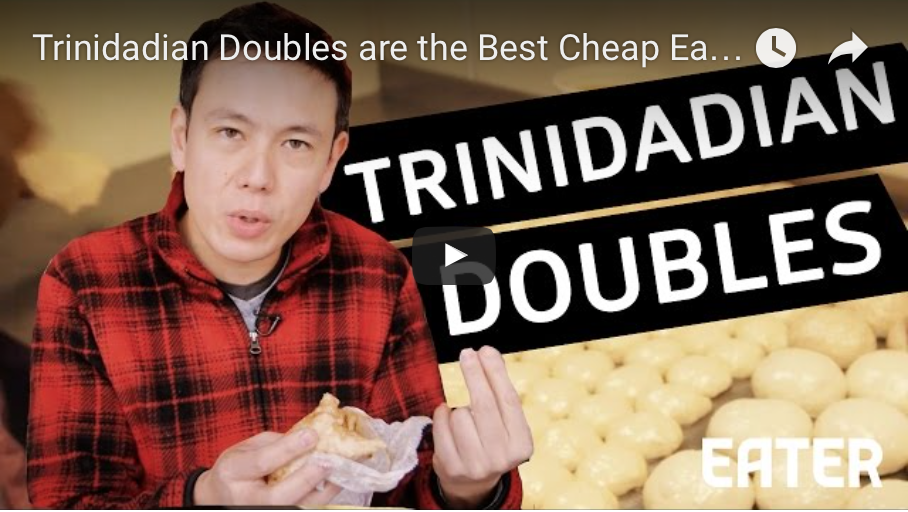 Trinidadian Doubles - Best Cheap Eats in Brooklyn