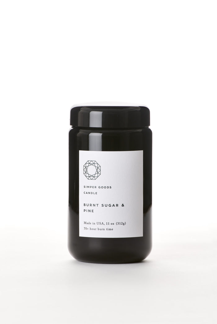 Burnt Sugar & Pine Candle