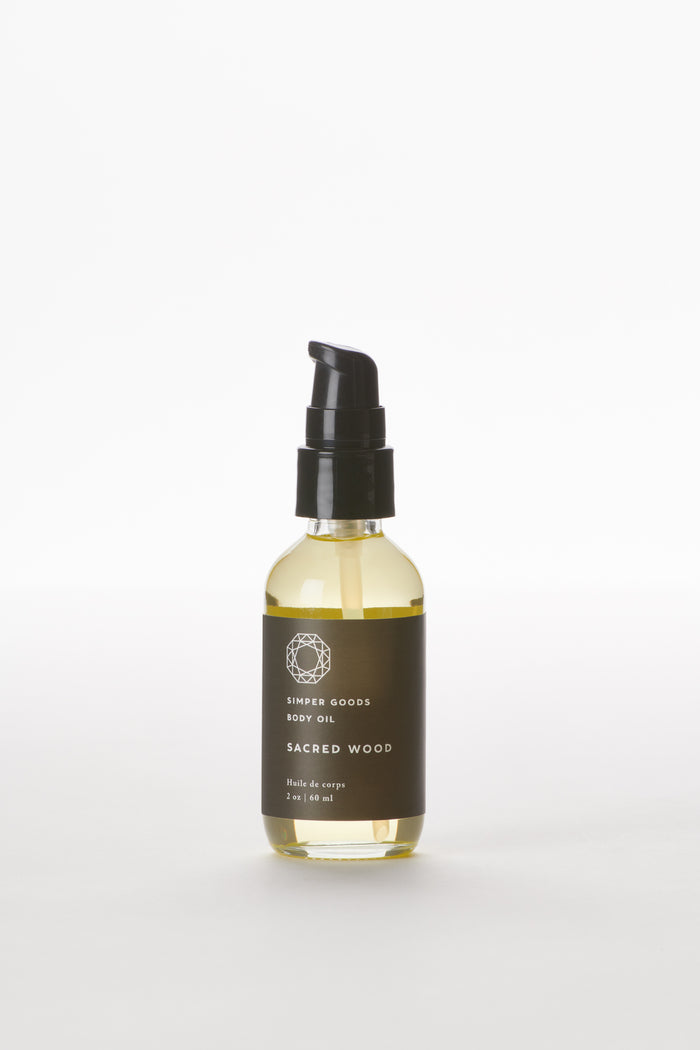 Sacred Wood Body Oil
