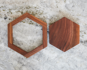 Walnut Trivets (set of 2)
