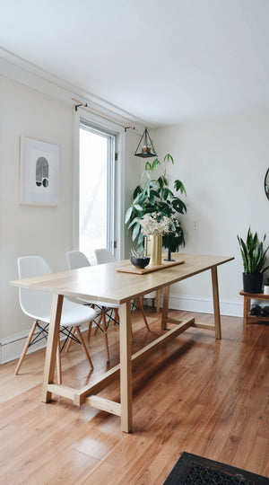 Condo-Friendly Dining Table (May 16, 23, 30, June 6, 13)