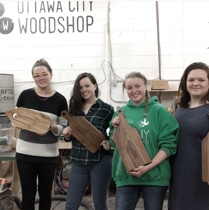 Woodshop Basics (January 30, 9:00am - 1:00pm)