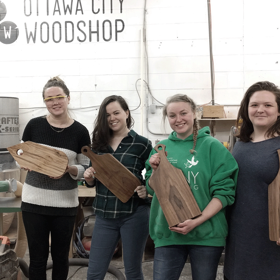 Woodshop Basics (Aug 25, 1:00pm - 5:00pm)