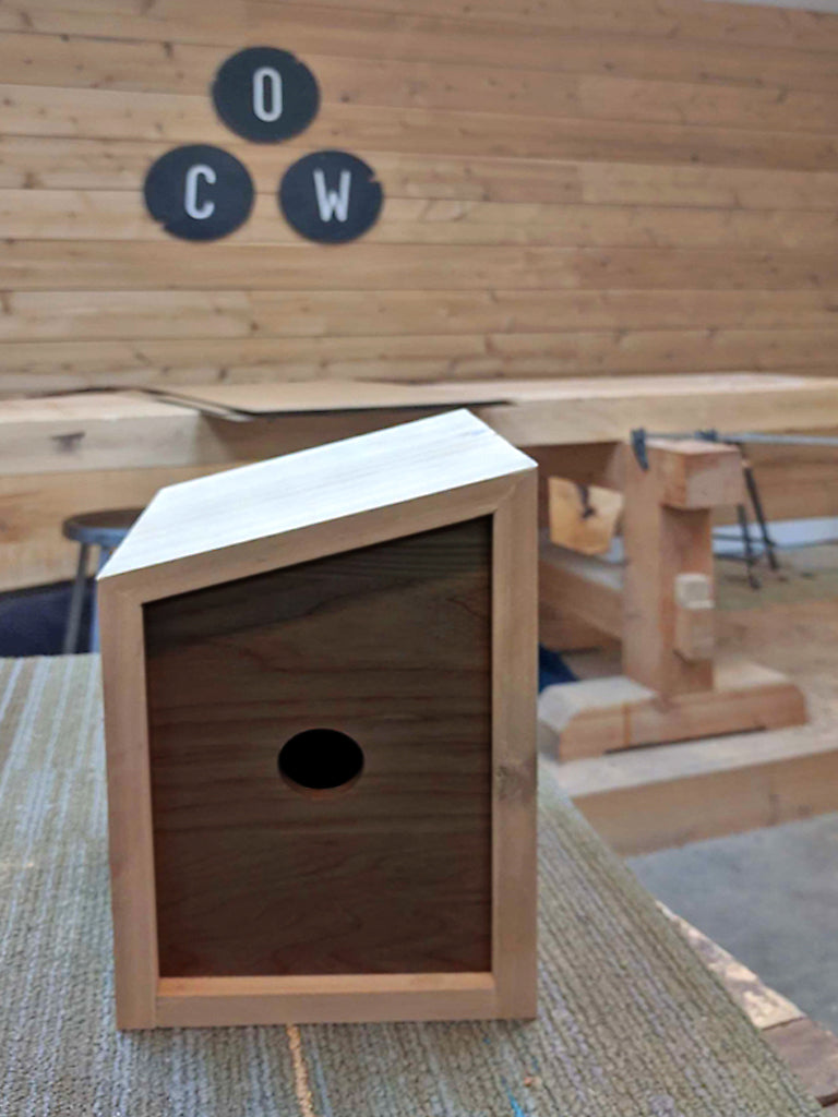 Modern Birdhouse - March 7th (1:30PM - 5:30PM)