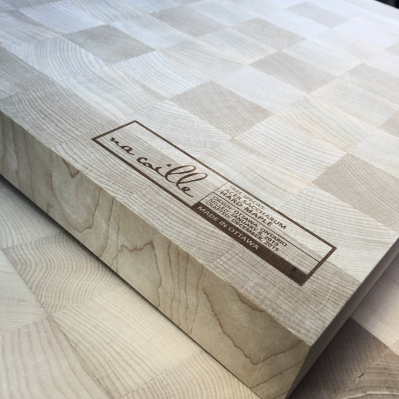 End Grain Cutting Board (March 12th, March 19th, March 21st)