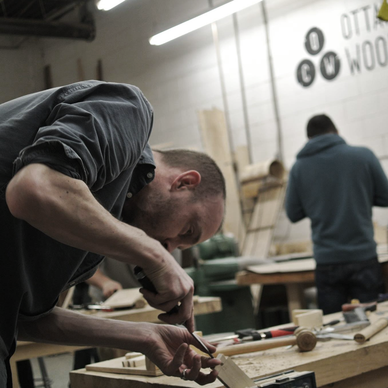 Foundations of Woodworking Level II (December 9-11)