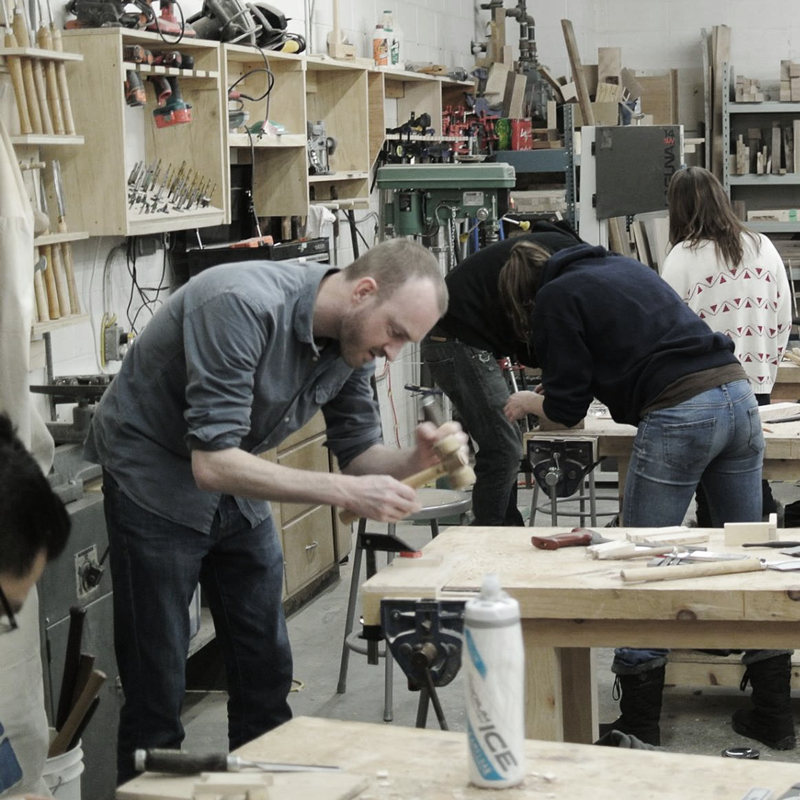 Foundations of Woodworking (March 19 - March 21)