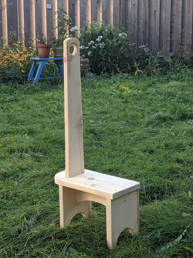 Shaker Step Stool - Parent-Child Class - November 7th (1:30PM - 6:30PM)