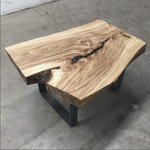Live Edge Slab Coffee Table (August 17, 24, 31 - September 7, 14)