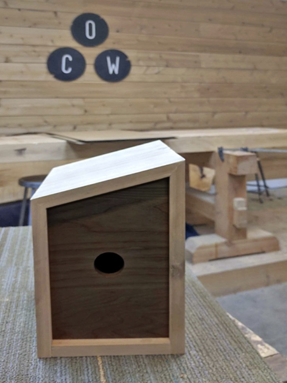 Modern Birdhouse - September 26th (1:30PM - 6:30PM)