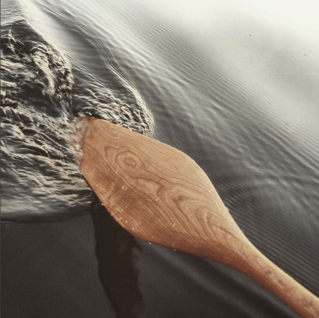 Hand-Carved Canoe Paddle (March 28, March 30)