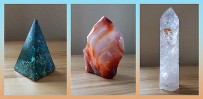 The Spiritual Meaning of Gems ~ Shattuckite, Carnellian and Girasol