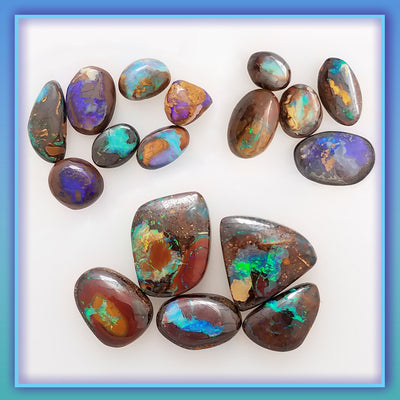 The Spiritual Meaning of Gems ~ Boulder Opal