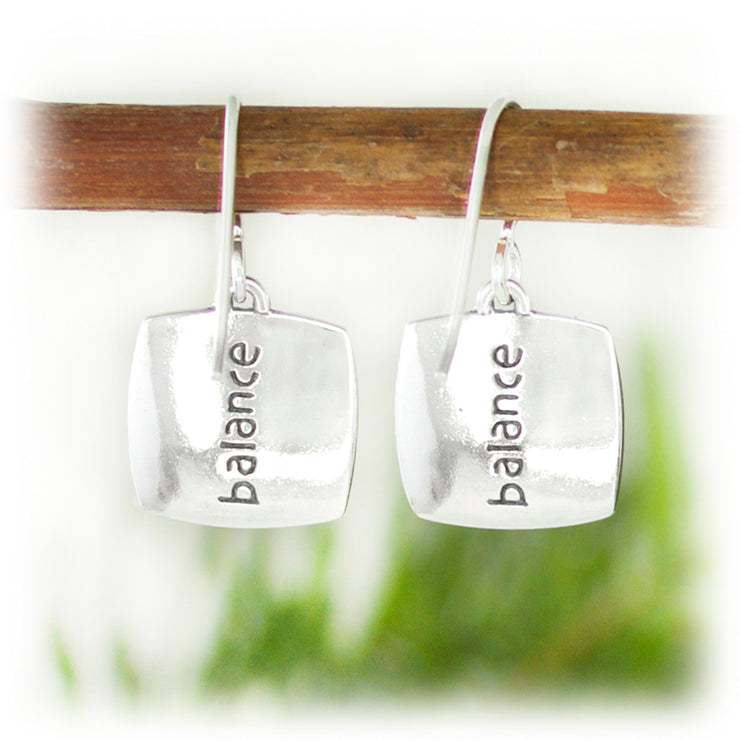 Courage Series Earrings - Balance