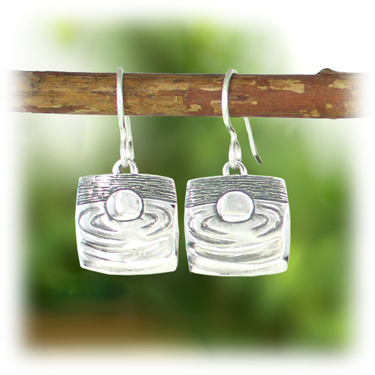Courage Series Earrings - Calm