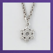 Snowflake Charms - Crystal
