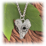 Blown Away Heart Pendant